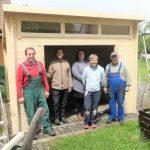 Neues Garten - und Gerätehaus in Spalt